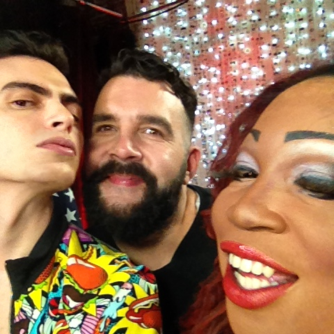 Michael Freeby joins hosts Lady Red and Jonny McGovern on Hey Qween
