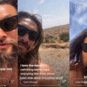 Jason Momoa Shares Shirtless Video After Car Breaks Down