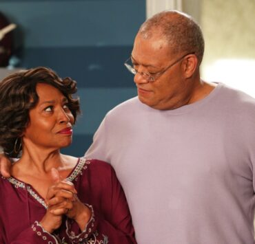 Jenifer Lewis and Laurence Fishburne