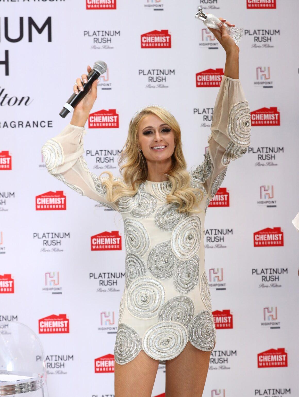 Paris Hilton Paris Hilton Platinum Rush Fragrance Launch