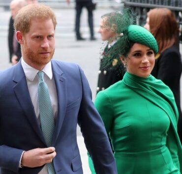 Prince Harry and Megan Markle Commonwealth Day Service 2020