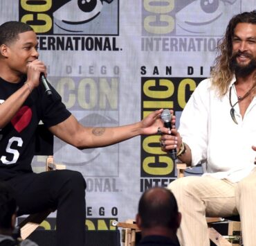 Ray Fisher and Jason Momoa Comic-Con International 2017 - Warner Bros. Pictures Presentation