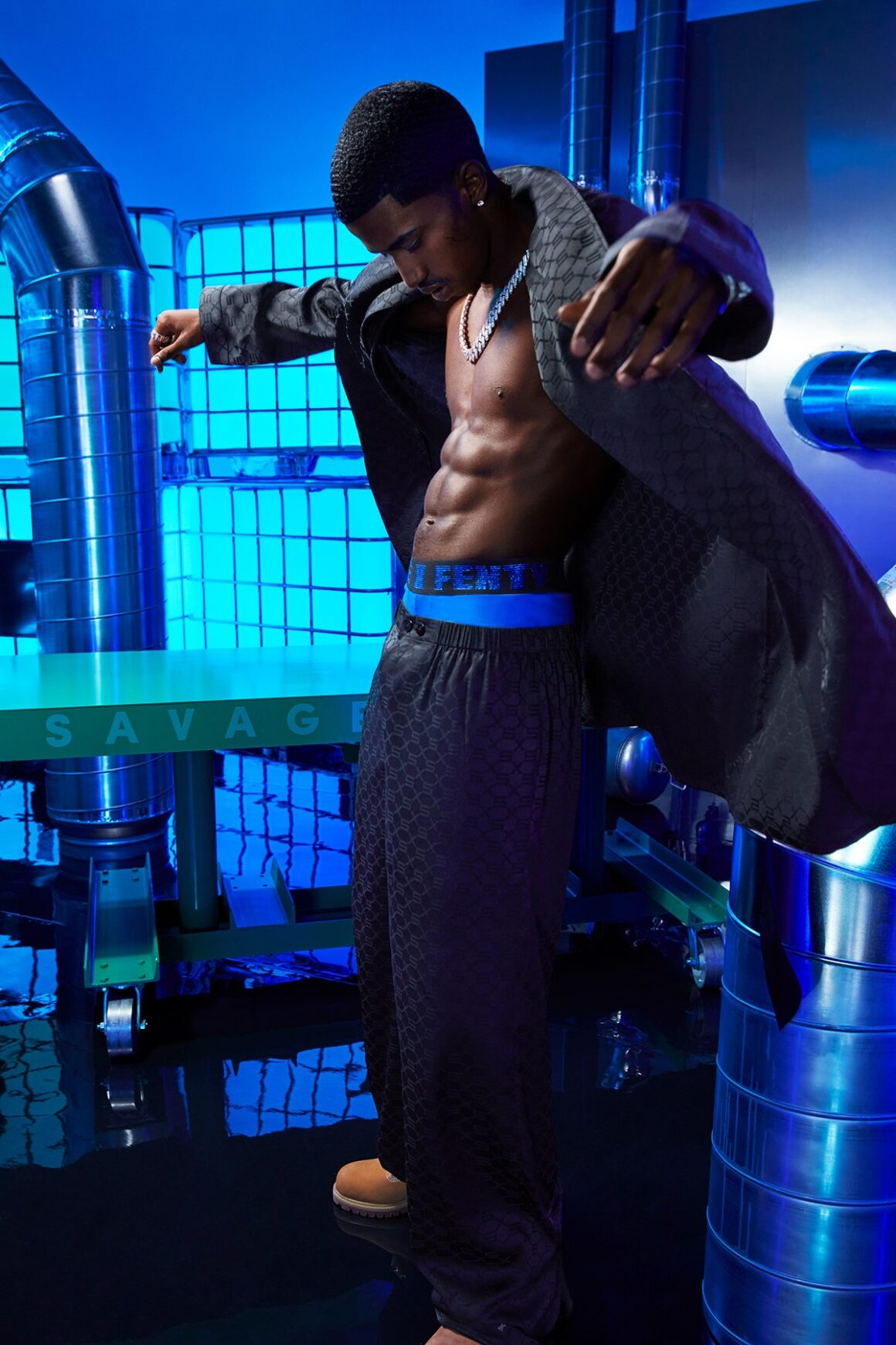 Rihanna's Savage x Fenty Men's Collection Featuring Christian Combs' Abs