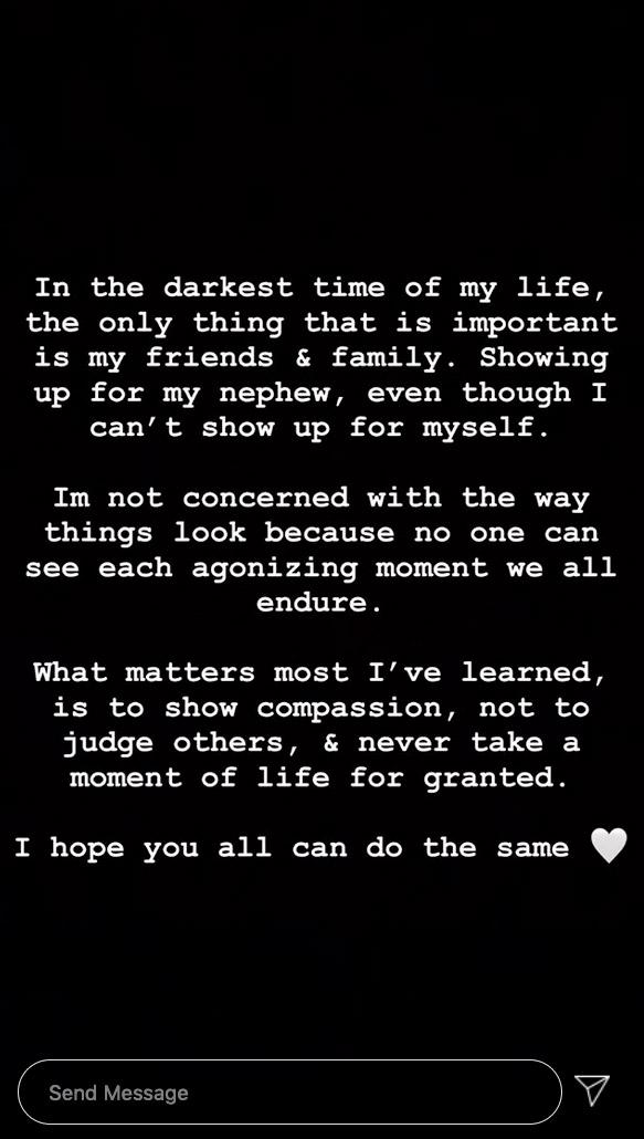 Nickaya Rivera Instagram Story