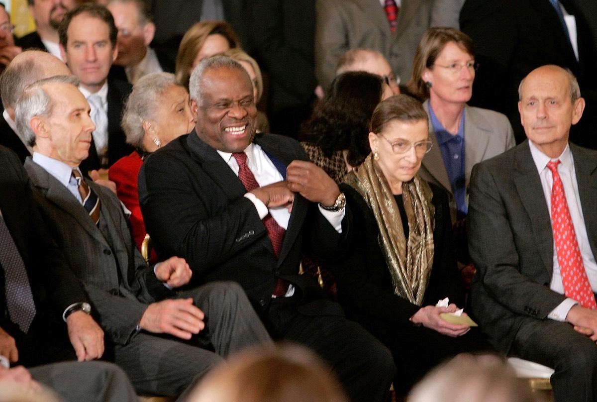 Samuel Alito Sworn In At White House