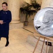 U.S. Treasury And Mint Introduce Chief Justice John Marshall Silver Dollar