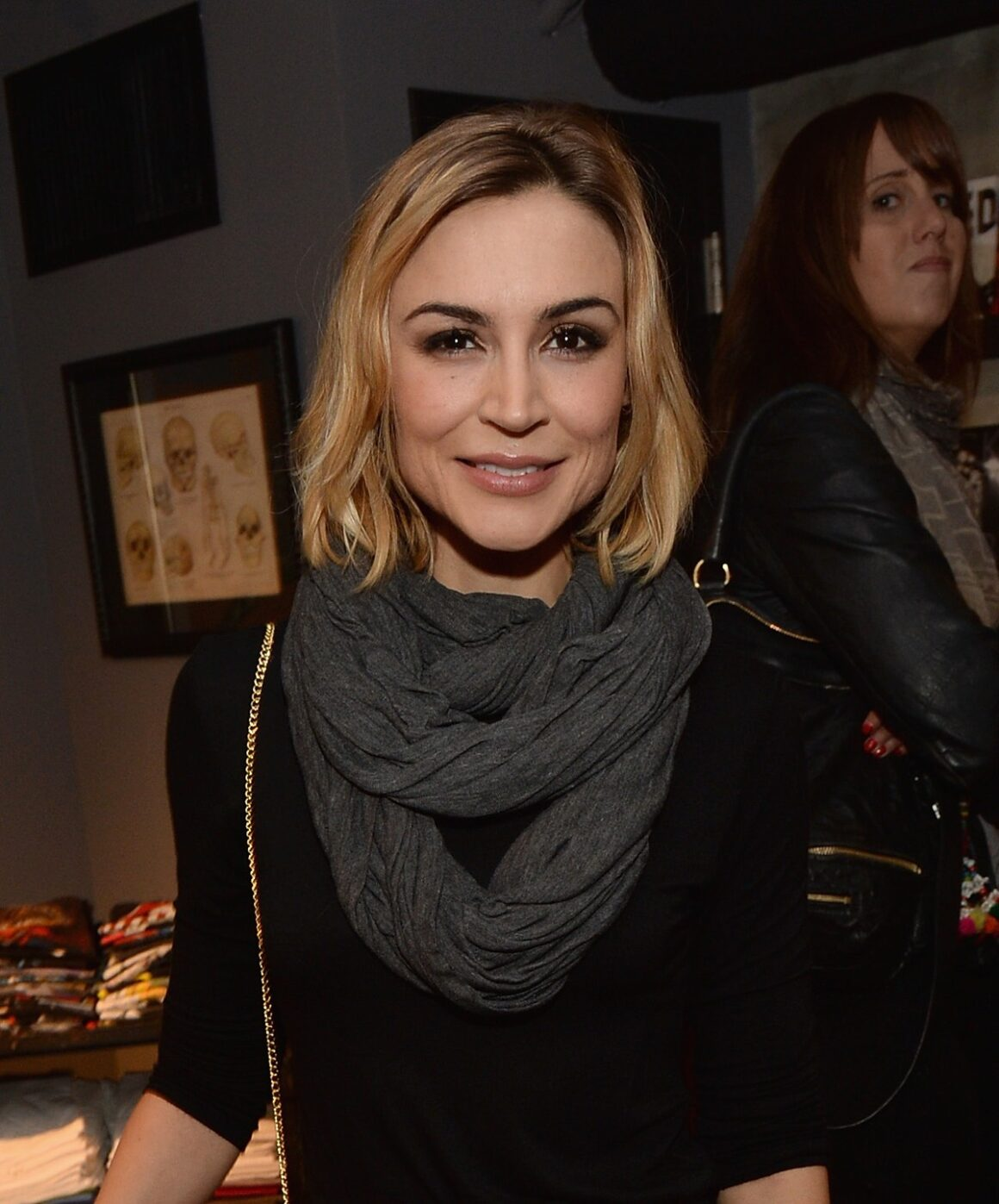 Samaire Armstrong Kelly Cole Winter 2013/2014 Collection Launch Benefitting Art of Elysium