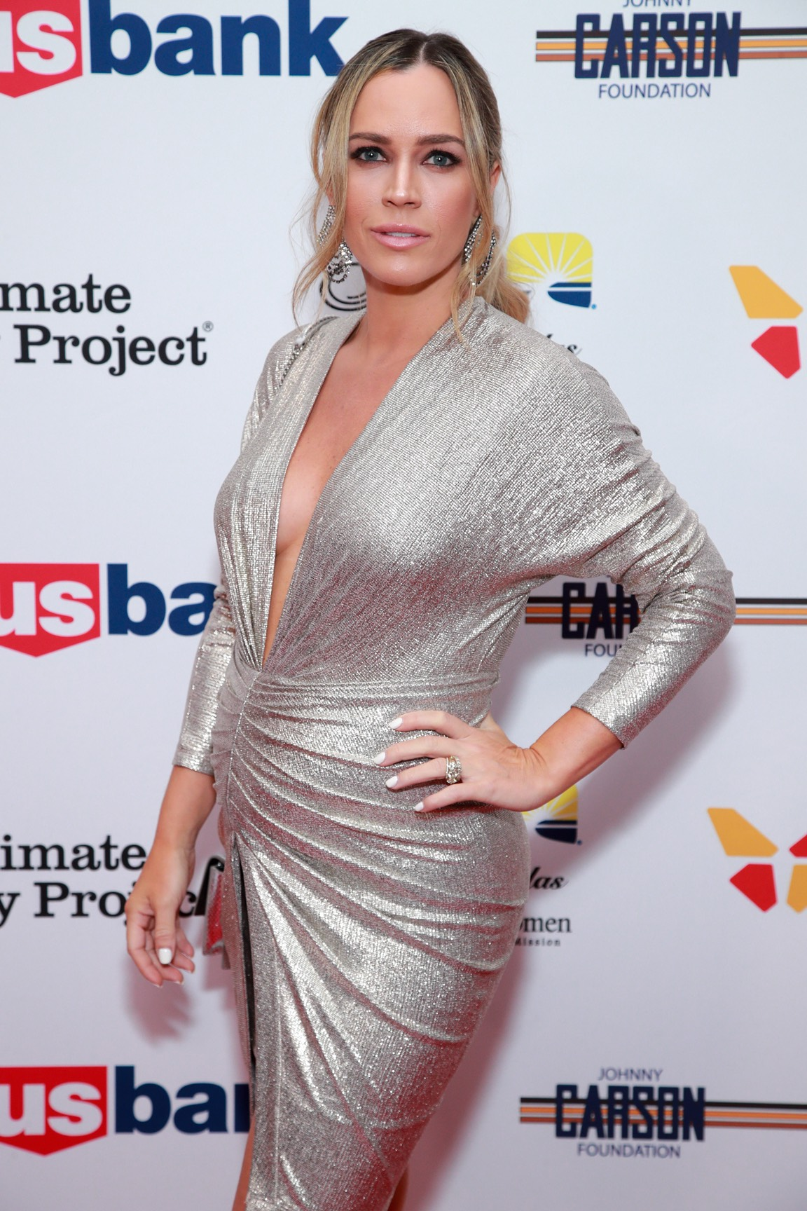 Teddi Mellencamp The Los Angeles Mission Legacy Of Vision Gala - Arrivals