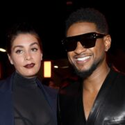 Jenn Goicoechea and Usher Balmain : Front Row - Paris Fashion Week Womenswear Fall/Winter 2020/2021