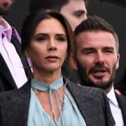 David Beckham and Victoria Beckham Inter Miami CF v Los Angeles Football Club