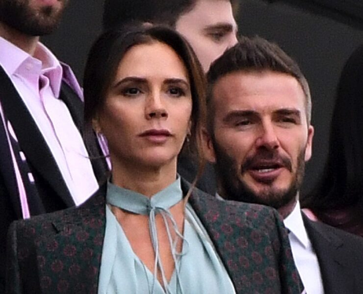 David Beckham and Victoria Beckham Inter Miami CF v Los Angeles Football Club
