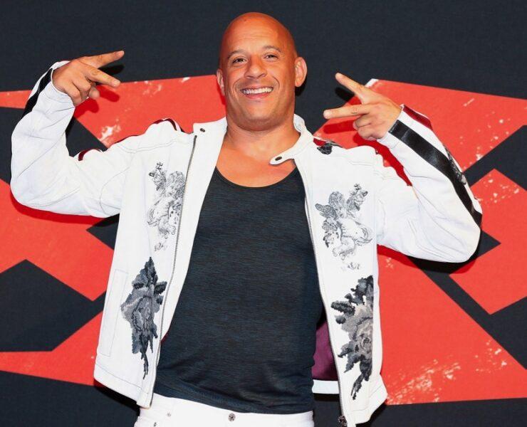 Vin Diesel xXx: Return of Xander Cage - Mexico Premiere