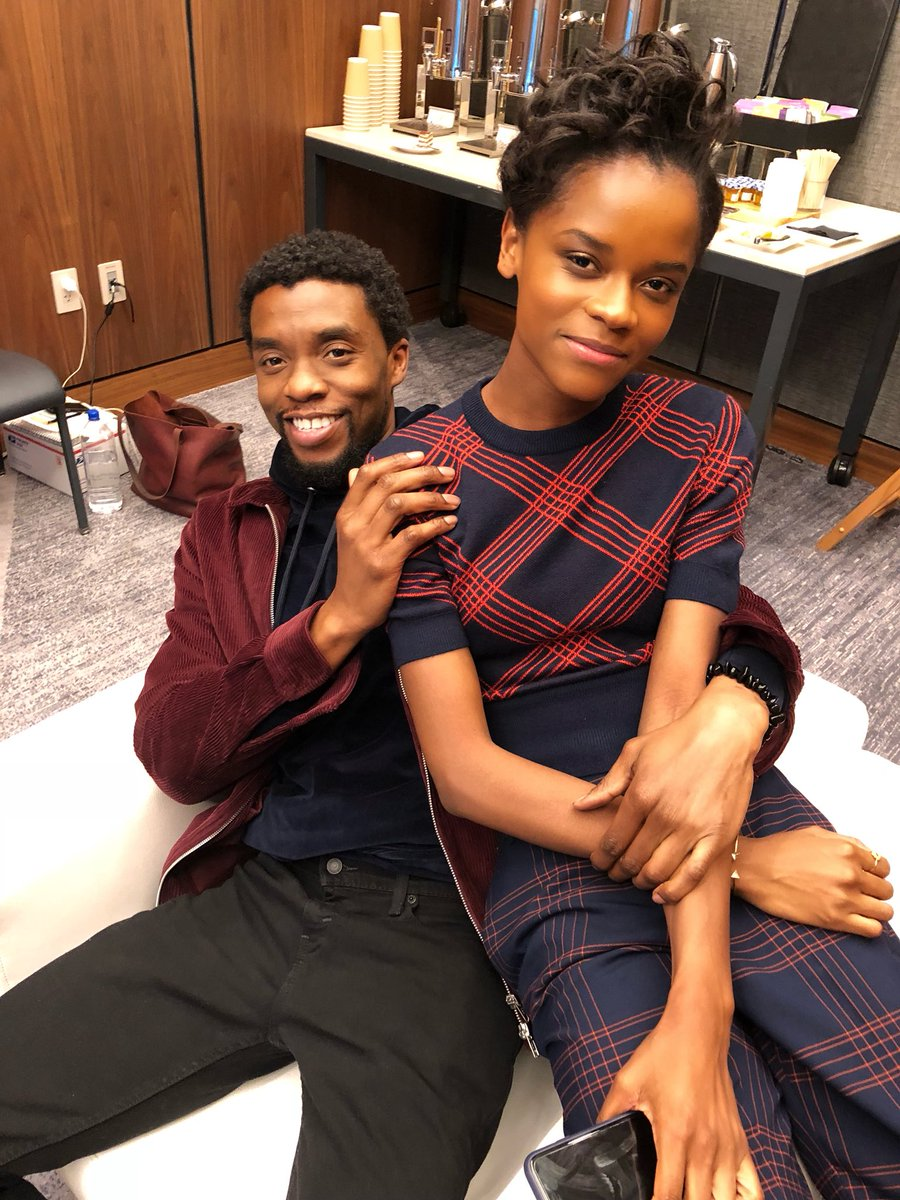 Letitia Wright Shares Moving Eulogy for Chadwick Boseman