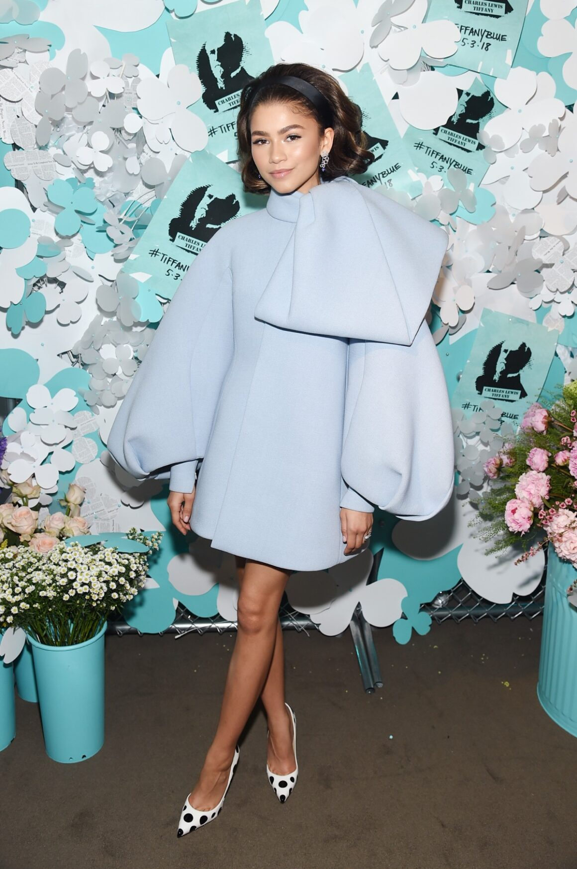 Zendaya Tiffany & Co. Paper Flowers Event And Believe In Dreams Campaign Launch