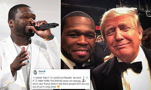 50 Cent has endorsed Donald Trump for president