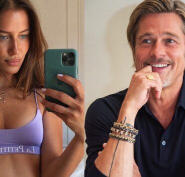 Brad Pitt and his girlfriend, Nicole Poturalski, have split
