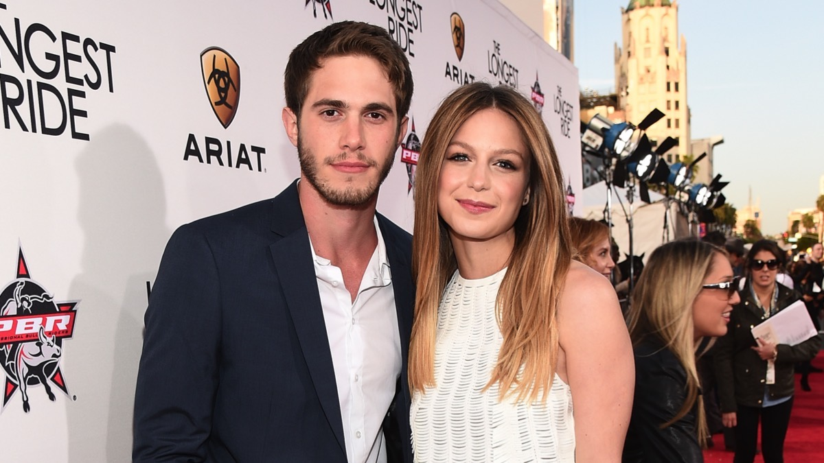 "Blake Jenner and Melissa Benoist Premiere Of Twentieth Century Fox's ""The Longest Ride"" - Red Carpet"