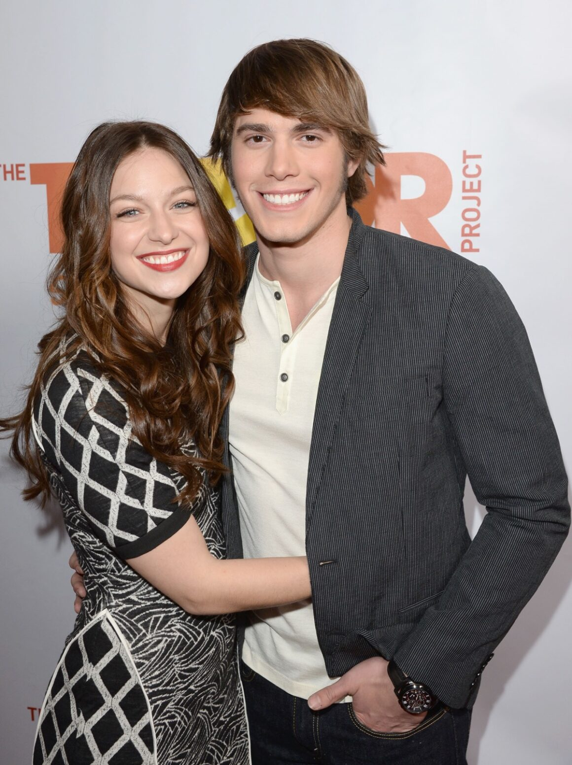 "Blake Jenner and Melissa Benoist ""TrevorLIVE LA"" Honoring Jane Lynch And Toyota For The Trevor Project - Red Carpet"