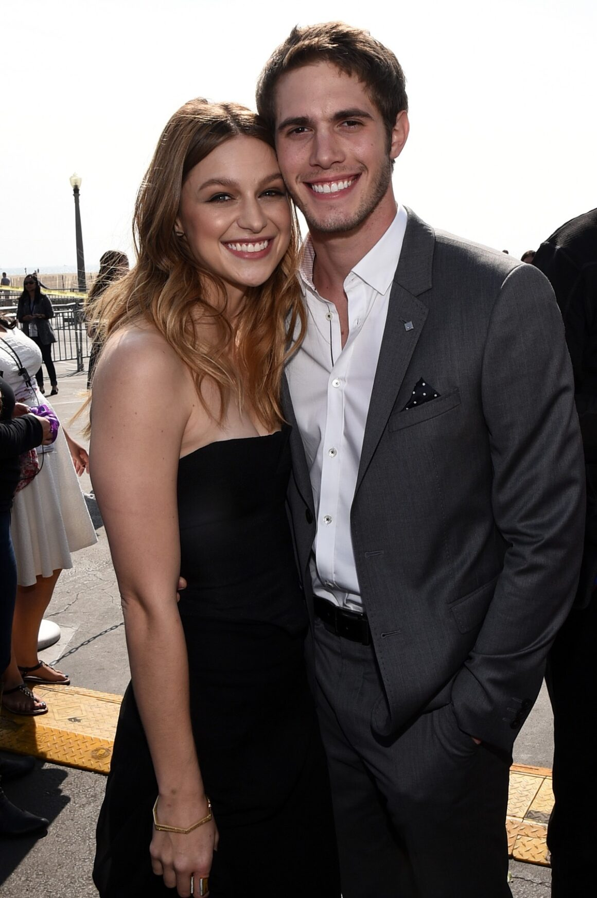Blake Jenner and Melissa Benoist FIJI Water At The 30th Annual Film Independent Spirit Awards