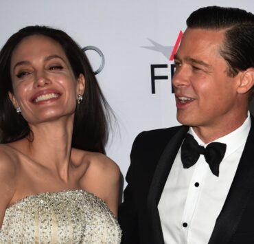 Angelina Jolie Pitt and Brad Pitt