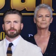 "Jamie Lee Curtis and Chris Evans Premiere Of Lionsgate's ""Knives Out"" - Red Carpet"