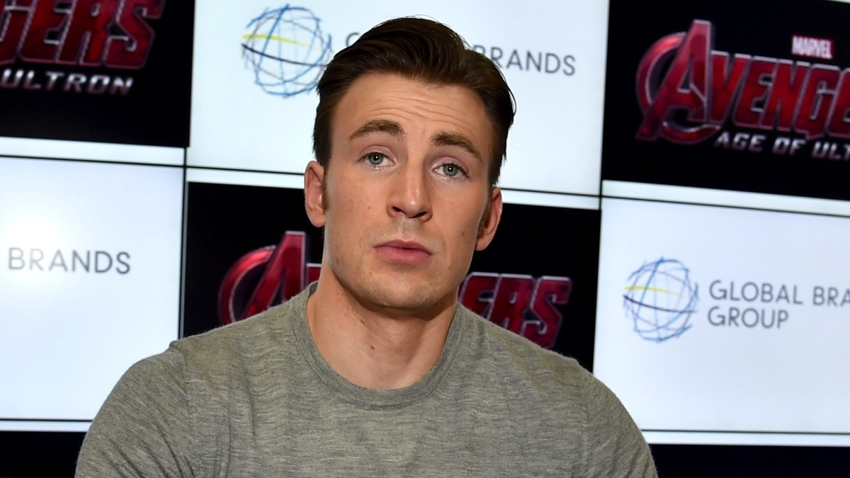 "Chris Evans Marvel's ""Avengers: Age Of Ultron"" Booth Signing During Comic-Con International 2014"