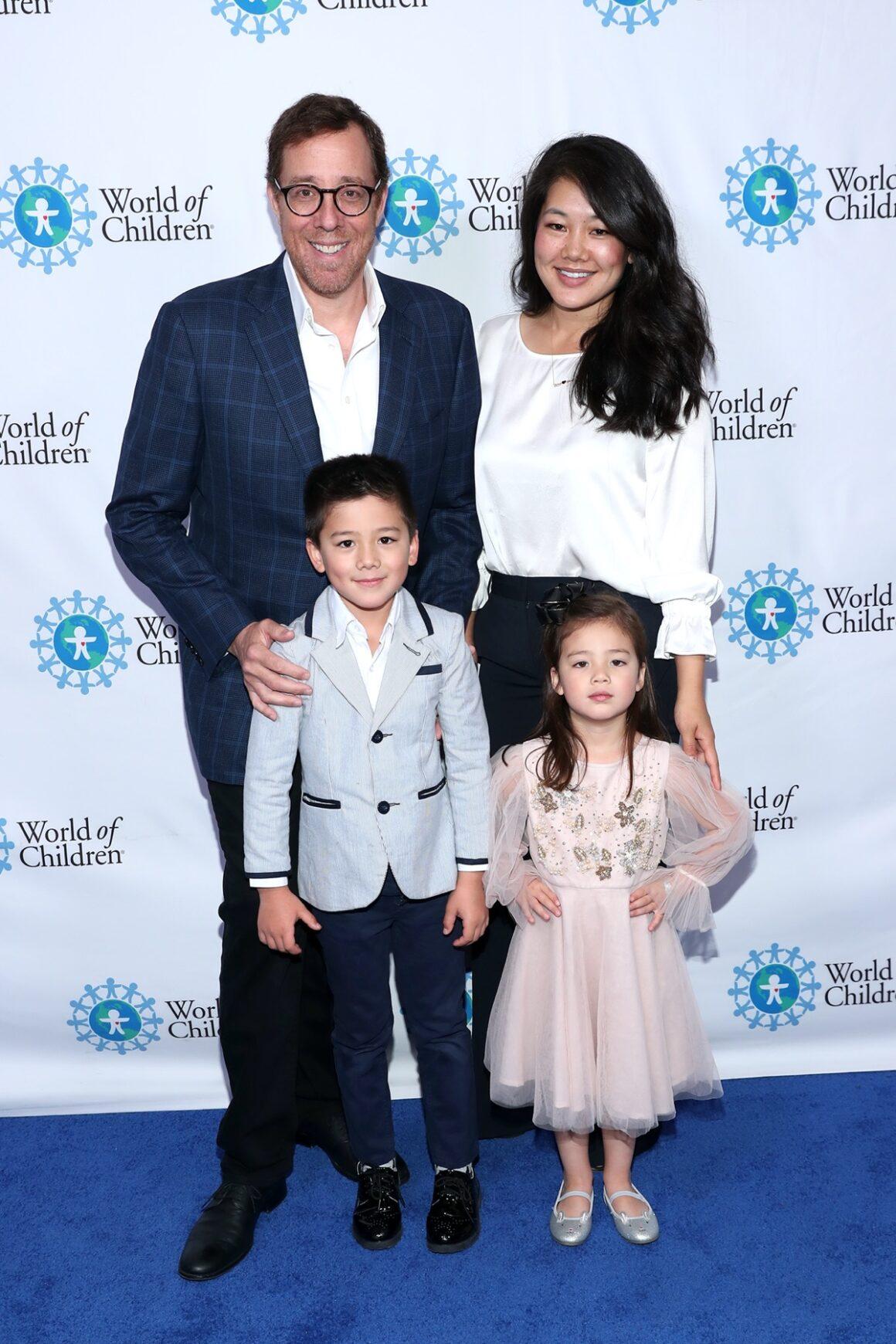 Rob Minkoff and Crystal Kung Minkoff2019 World of Children Hero Awards Benefit