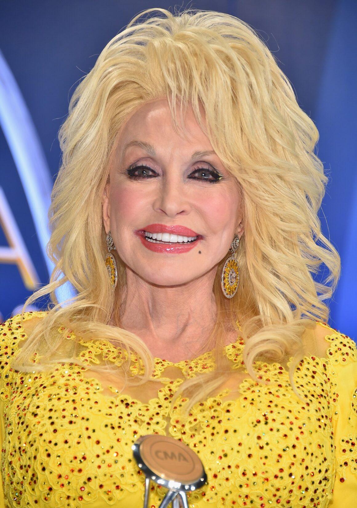 Dolly Parton The 50th Annual CMA Awards - Press Room