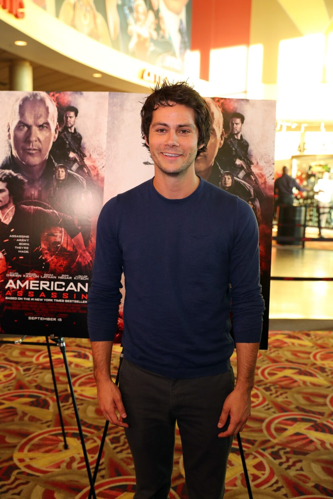 Dylan O'Brien AMERICAN ASSASSIN Minneapolis / St. Paul Red Carpet Screening