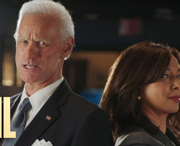 Saturday Night Live Reveals First Look at Jim Carrey as Joe Biden With Maya Rudolph's Kamala Harris