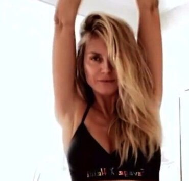 Heidi Klum Dances Around in Savage X Fenty Lingerie