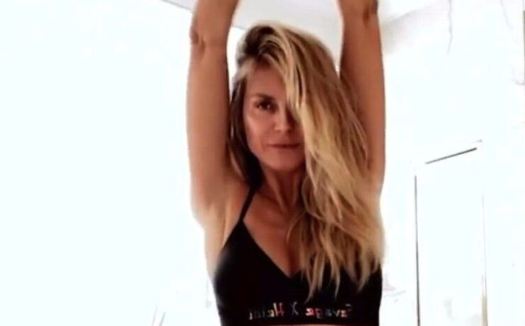 Heidi Klum Dances Around in Savage X Fenty Lingerie