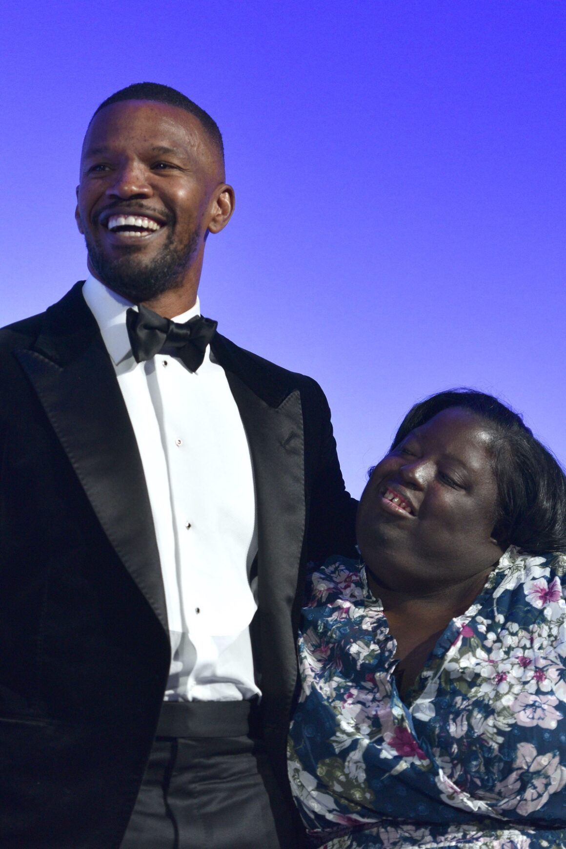 Jamie Foxx and DeOndra Dixon Global Down Syndrome Foundation's 10th Anniversary Be Beautiful Be Yourself Fashion Show 2018