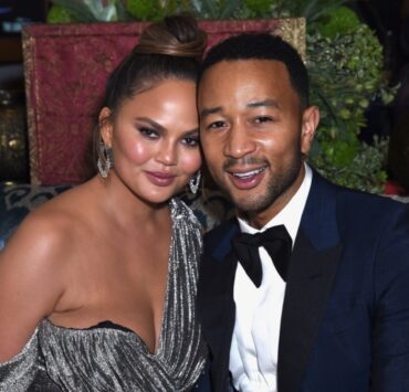 Chrissy Teigen and John Legend Hulu's 2018 Emmy Party
