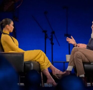 David Letterman confronts Kim Kardashian West