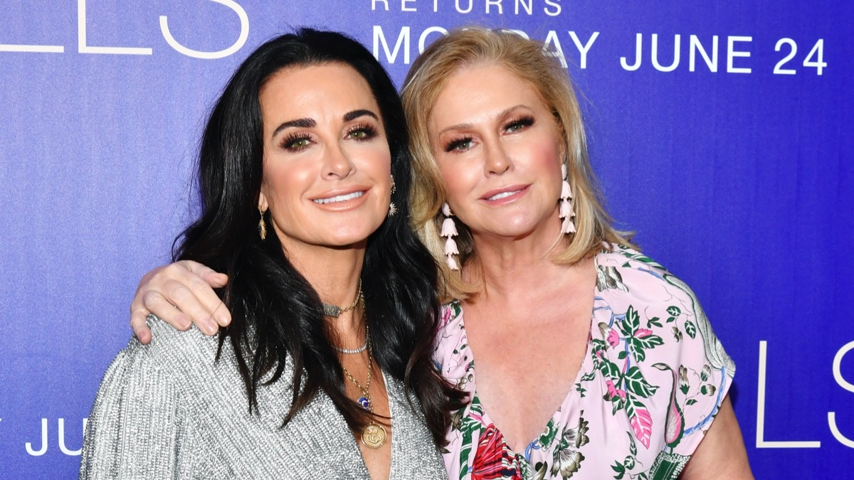 """Kyle Richards and Kathy Hilton Premiere Of MTV's """"The Hills: New Beginnings"""" - Arrivals"""