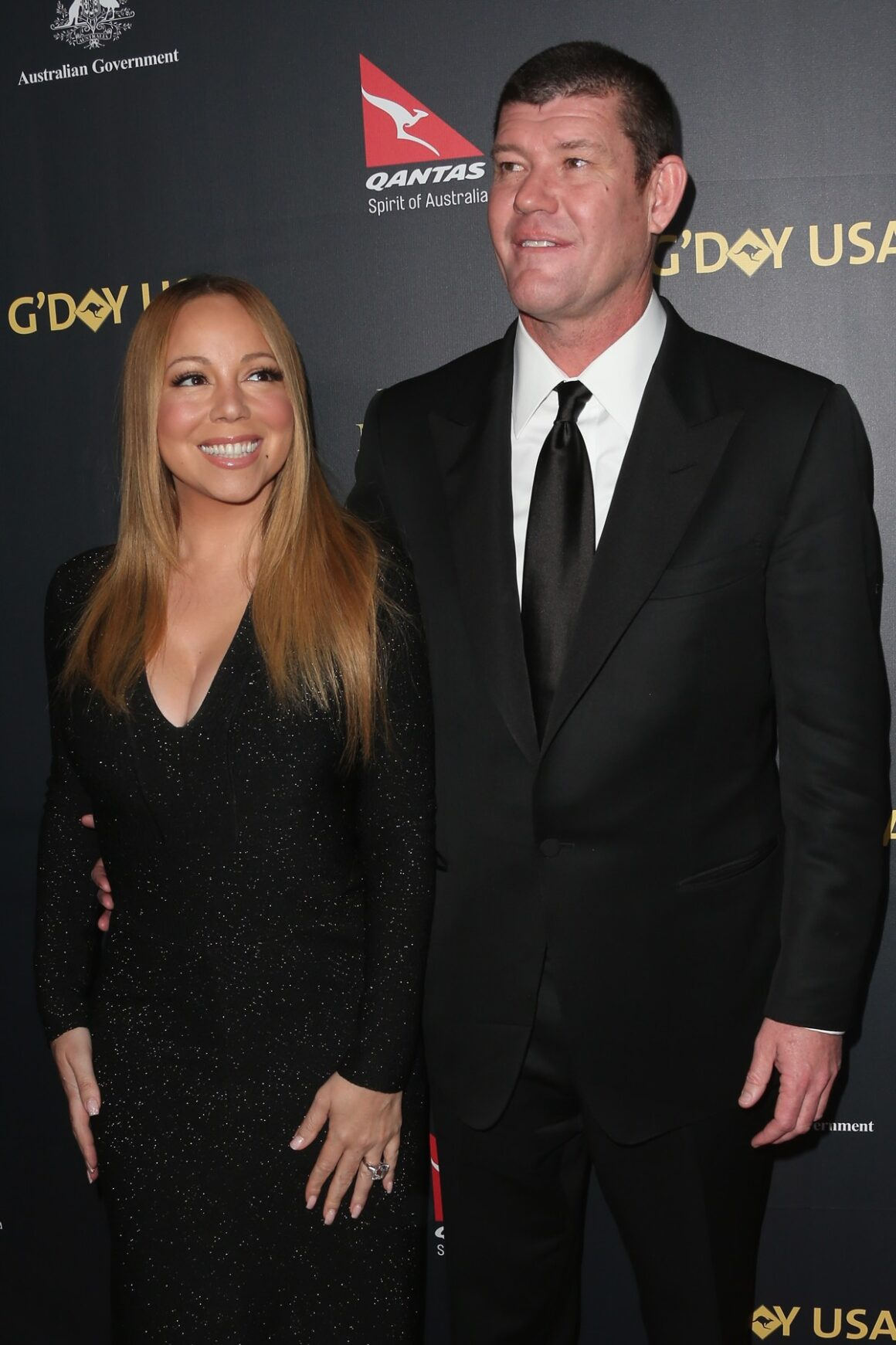 Mariah Carey and James Packer 2016 G'Day Los Angeles Gala - Arrivals