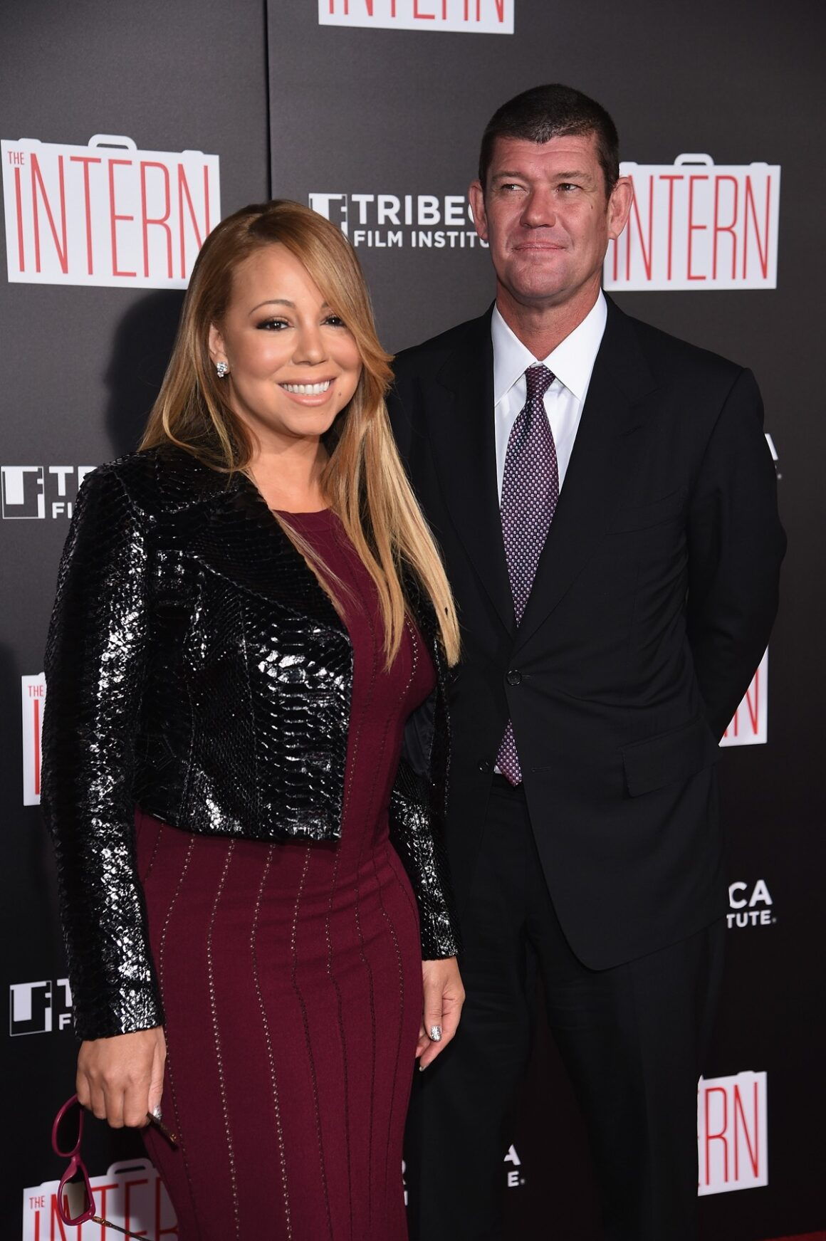 "Mariah Carey and James Packer ""The Intern"" New York Premiere"