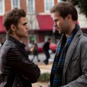Paul Wesley and Matthew Davis