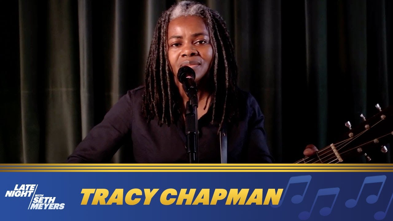 Tracy Chapman Urges Voting in Surprise Performance