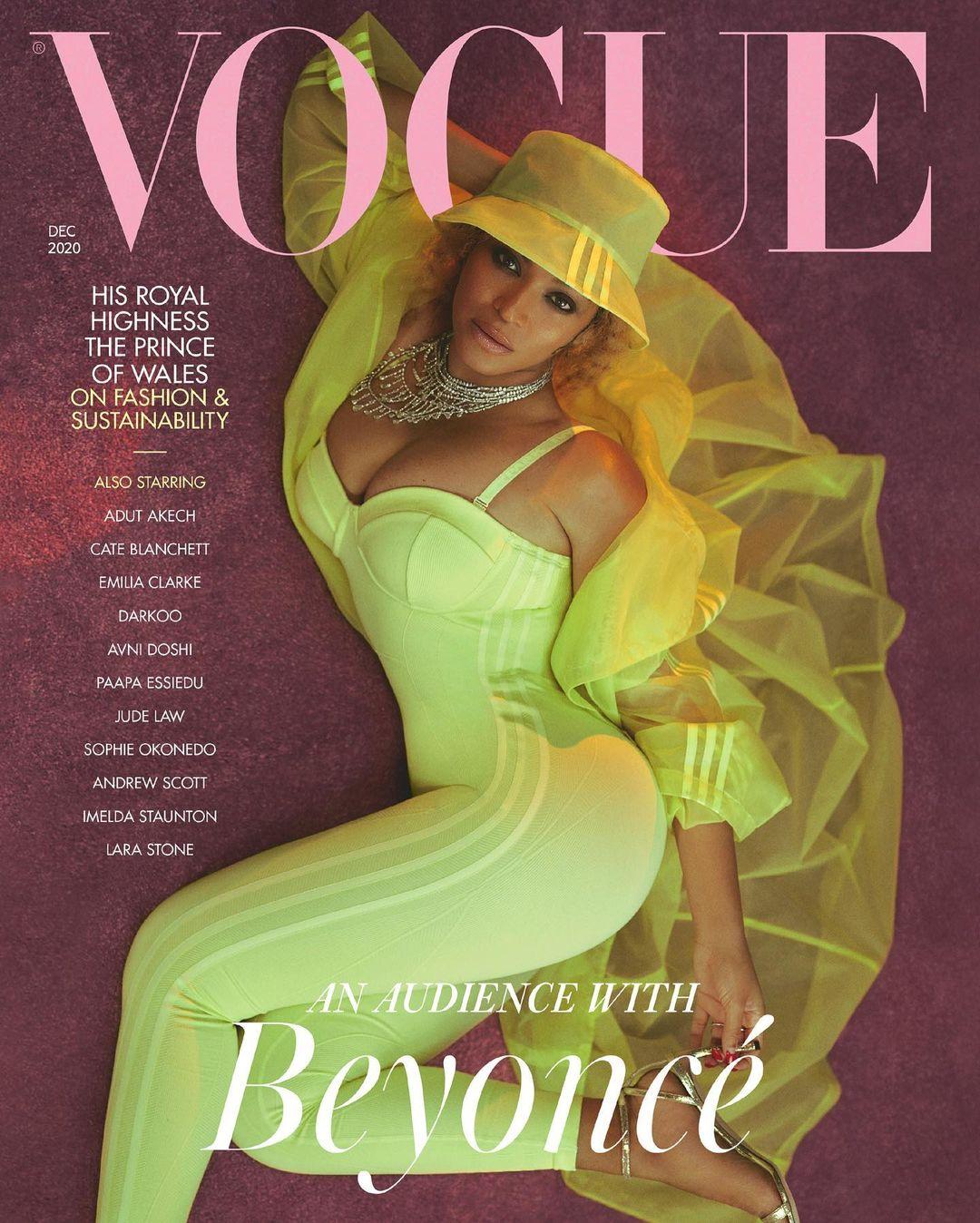 Beyoncé for British Vogue