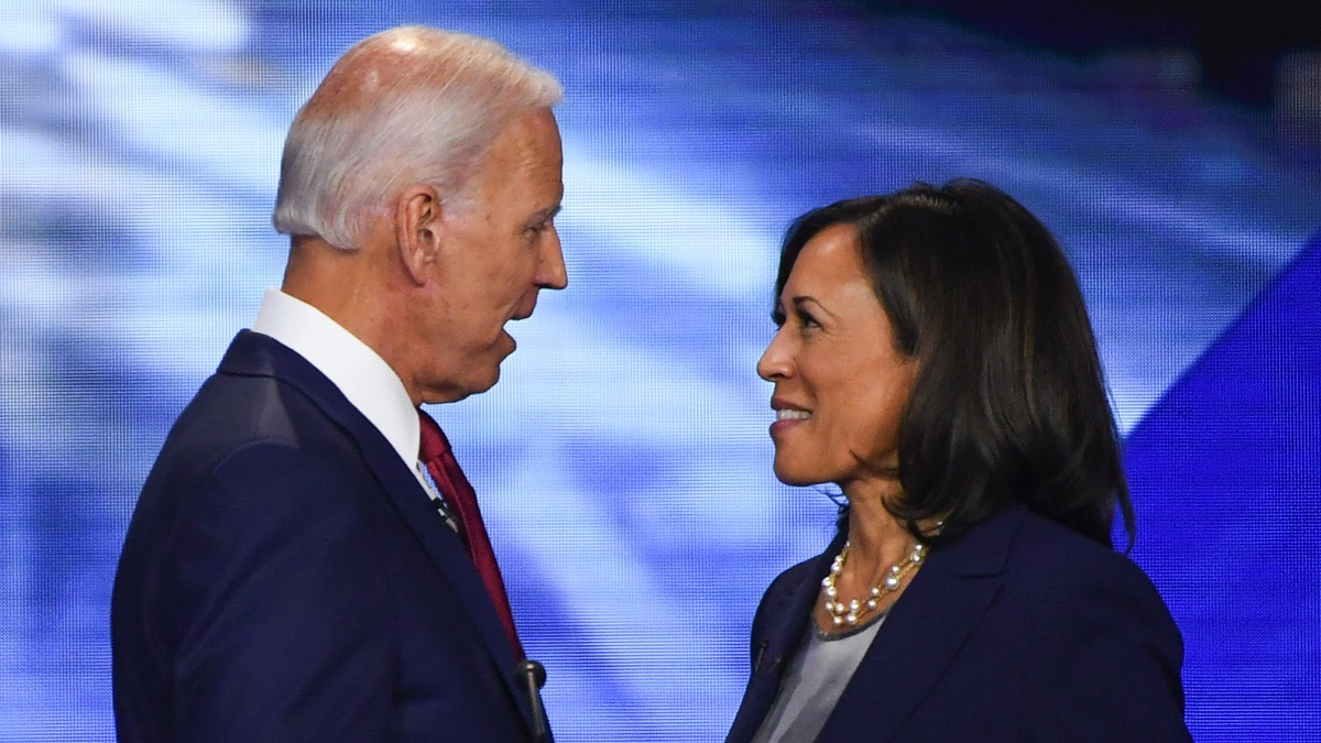 oe Biden and Kamala Harris