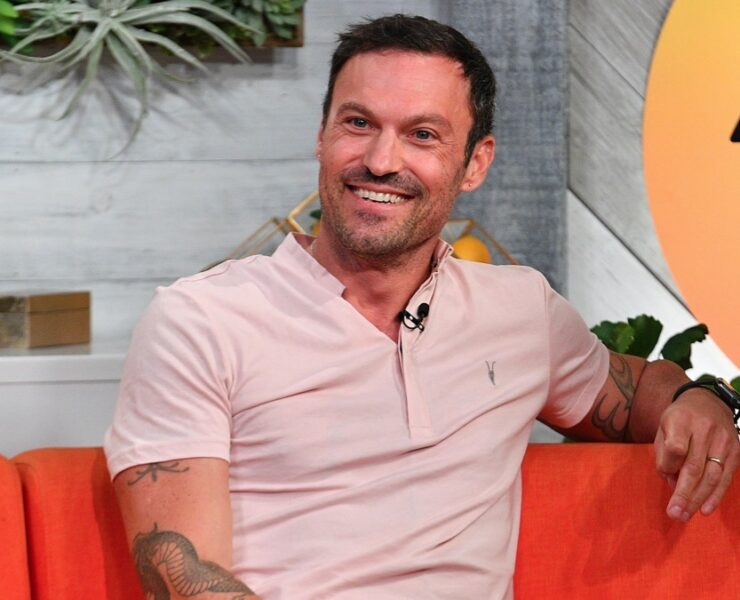 "Brian Austin Green Celebrities Visit BuzzFeed's ""AM To DM"" - August 13, 2019"