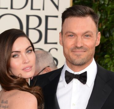 Megan Fox and Brian Austin Green 70th Annual Golden Globe Awards - Arrivals