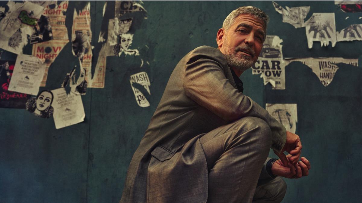 George Clooney December 2020 GQ