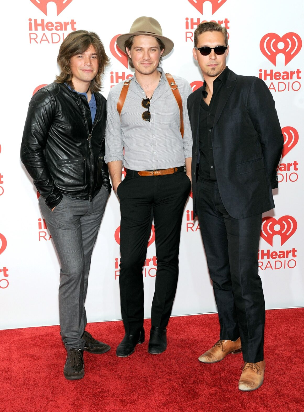 Hanson iHeartRadio Music Festival - Day 2 - Backstage
