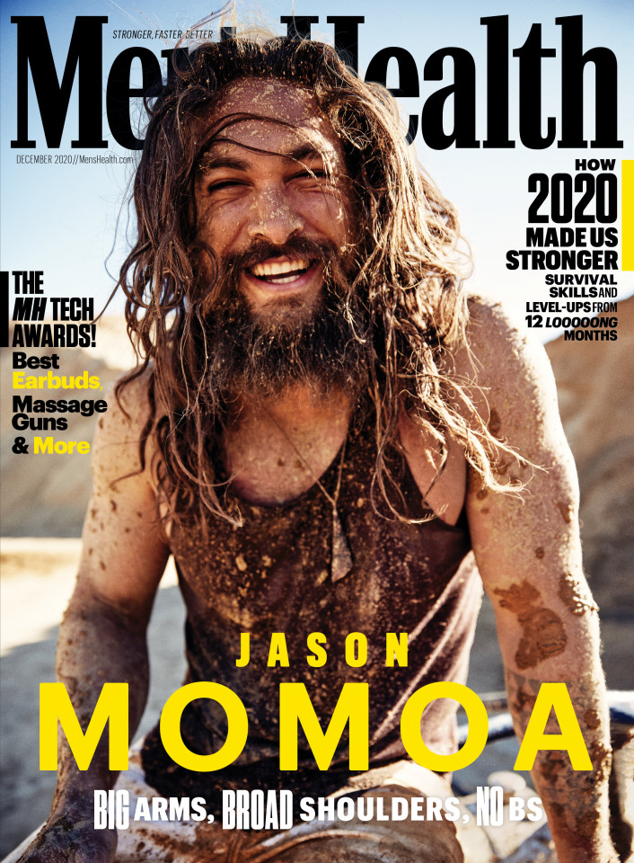 Jason Momoa for Men's Health