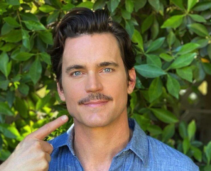 Matt Bomer mustache