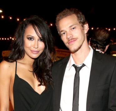 Naya Rivera and Ryan DorseyThe UNICEF Dia de los Muertos Black & White Masquerade Ball