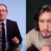 John Oliver and Adam Driver